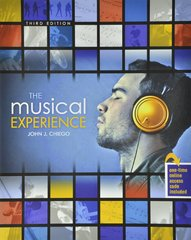 The Musical Experience 3rd Edition 9781465213822 1465213821
