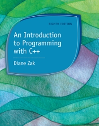 An Introduction to Programming With C++ (8th) edition 128586011X 9781285860114
