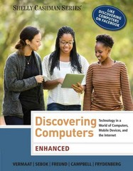 Enhanced Discovering Computers 1st Edition 9781285845500 1285845501