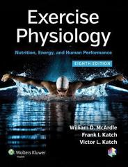 Exercise Physiology Nutrition Energy And Human Performance 8th Edition Rent 9781451191554 Chegg Com