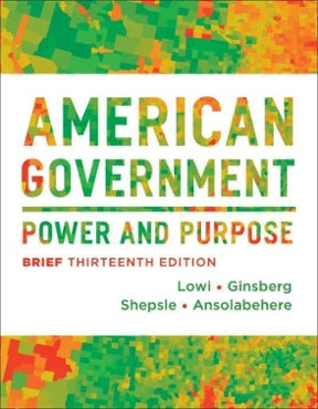 american government power and purpose 12th edition pdf