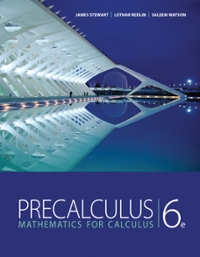 Bundle: Precalculus: Mathematics for Calculus + Enhanced WebAssign Homework with eBook Access Card for One Term Math and Science (6th) edition 9781111495886 1111495886
