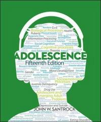 Adolescence 15th Edition 9780078035487 0078035481