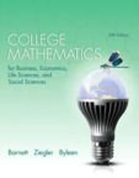 College mathematics for business economics life sciences and college mathematics for business economics life sciences and social sciences 13th edition fandeluxe Images