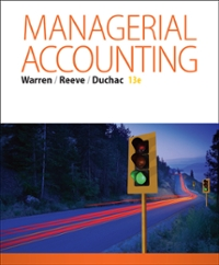 Managerial accounting 13th edition textbook solutions chegg managerial accounting 13th edition view more editions fandeluxe Gallery