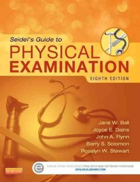 Seidels guide to physical examination 8th edition rent seidels guide to physical examination 8th edition fandeluxe Images
