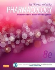Pharmacology 8th Edition 9781455751488 1455751480