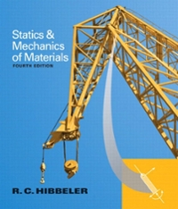 Statics and Mechanics of Materials (4th) edition 9780133454499 0133454499