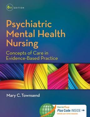 Psychiatric mental health nursing concepts of care in evidence based psychiatric mental health nursing 8th edition 9780803640924 0803640927 fandeluxe Images