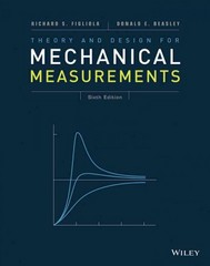 Theory and Design for Mechanical Measurements 6th edition 9781118881279 1118881273