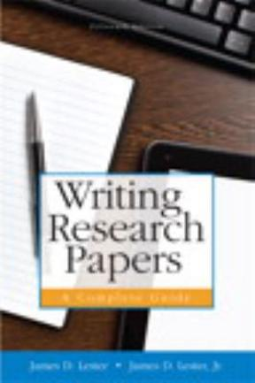Writing Research Papers A Complete Guide 15th Edition Rent