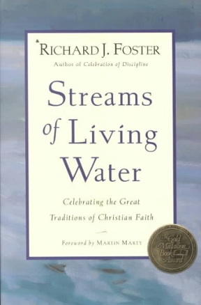 streams of living water God's various gifts are handed out everywhere but they all originate in god's spirit.