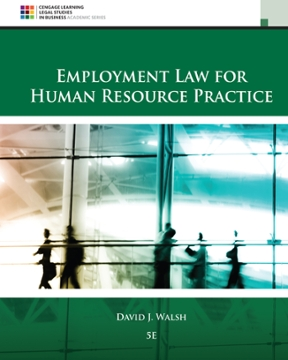 Employment law for human resource practice 5th edition rent employment law for human resource practice 5th edition fandeluxe Gallery