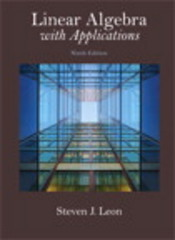 Linear Algebra with Applications 9th Edition 9780321962218 0321962214