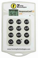 Response Card RF LCD by Turning Technologies 1st Edition 9781934931400 1934931403