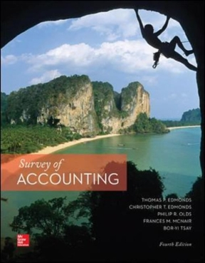 Survey of accounting 4th edition rent 9780077862374 chegg survey of accounting 4th edition 9780077862374 0077862376 fandeluxe Images