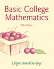 Basic College Mathematics 5th edition 9780321950970 0321950976