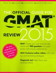 The Official Guide for GMAT Review 2015 with Online Question Bank and Exclusive Video 14th Edition 9781118914090 1118914090