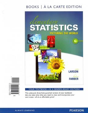 Elementary statistics books a la carte plus new mystatlab with elementary statistics books a la carte plus new mystatlab with pearson etext access card package 6th edition fandeluxe Gallery