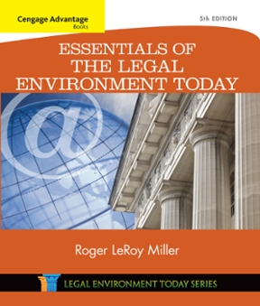 Cengage advantage books essentials of the legal environment today cengage advantage books essentials of the legal environment today 5th edition 9781305446175 1305446178 fandeluxe Gallery