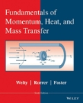 Fundamentals of Momentum  Heat  and Mass Transfer  Revised