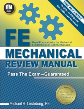 FE Mechanical Review Manual Rapid Preparation for the Mechanical