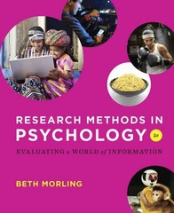 Research Methods in Psychology 2nd Edition 9780393936933 0393936937