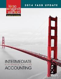 2014 FASB Update Intermediate Accounting (15th) edition 9781118985311 1118985311
