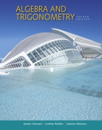 Algebra and Trigonometry (4th) edition 9781305537033 1305537033