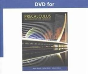Dvd Text Specific For Stewart Redlin Watson S Precalculus