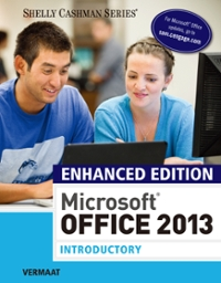 Enhanced microsoft office 2013 introductory 1st edition textbook enhanced microsoft office 2013 introductory 1st edition view more editions fandeluxe Image collections