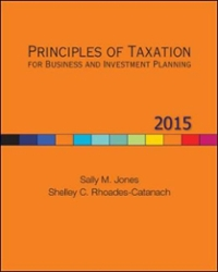 Principles of Taxation for Business and Investment Planning, 2015 Edition 18th edition 9780077862329 0077862325