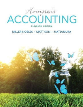 Horngrens accounting 11th edition rent 9780133856781 chegg horngrens accounting 11th edition fandeluxe Gallery