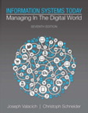 Information systems today managing in the digital world 7th edition information systems today 7th edition fandeluxe Gallery