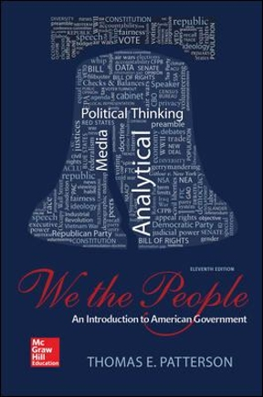 We the people 11th edition rent 9780078024795 chegg we the people 11th edition fandeluxe Image collections