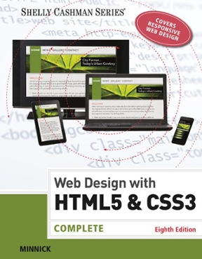 Web Design With Html Amp Css3 Complete 8th Edition Rent 9781305578173 Chegg Com