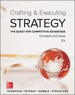 crafting executing strategy 17th edition google case Crafting and executing strategy the quest for competitive advantage  uploaded by tanveer lashari download with google download with facebook or download with email crafting and executing strategy the quest for competitive advantage download crafting and executing strategy the quest for competitive advantage uploaded by.