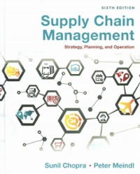 Chapter 11 Solutions | Supply Chain Management 6th Edition