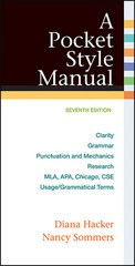 A Pocket Style Manual 7th Edition 9781457642326 1457642328