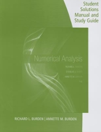 Textbook rental mathematical analysis online textbooks from chegg student solutions manual with study guide for burdenfairesburdens numerical analysis 10th fandeluxe Images