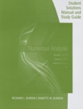 Student Solutions Manual with Study Guide for Burden/Faires/Burden's Numerical Analysis, 10th