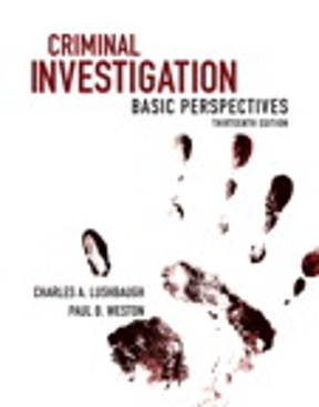 criminal investigation basic perspectives 12th edition free pdf