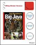 Big Java, Binder Ready Version