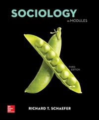 Sociology in Modules (4th) edition 1259702715 9781259702716