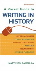 A Pocket Guide to Writing in History 8th Edition 9781457690884 1457690888
