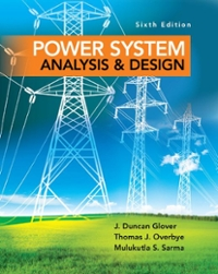 power system analysis and design glover sarma solution manual