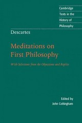 Descartes: Meditations on First Philosophy 2nd Edition 9780521558181 0521558182