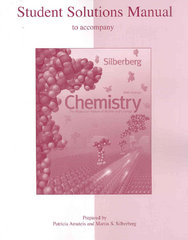 Student Solutions Manual to accompany Chemistry: The Molecular Nature of Matter and Change 5th edition 9780073048604 0073048607