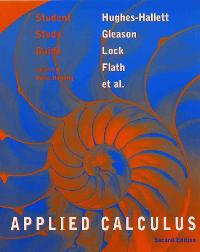 Student Study Guide to accompany Applied Calculus, 2nd Edition (2nd) edition 0471213616 9780471213611