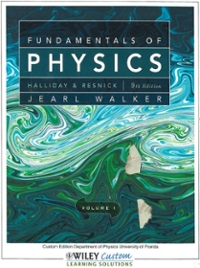 Fundamentals of Physics, Volume 1: Custom Edition Department of Physics University of Florida (9th) edition 0470889292 9780470889299